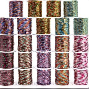Genie Crafts Metallic Wrapping Cord (24 Pack)